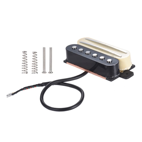 Electric Guitar Dual Rail Bridge Humbucker Humbucking & Single Coil Pickup for Fender ST for Gibson Epiphone Les Paul