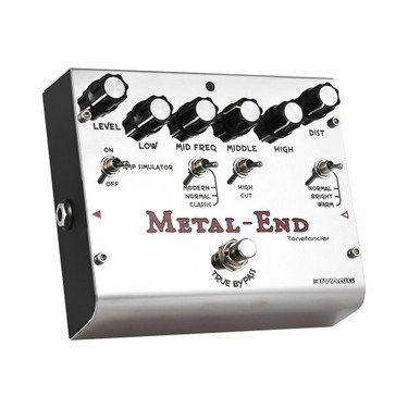BIYANG METAL-END Pro Distortion Effect Pedal Built-in Amplifier Simulator EQ With True Bypass Full Metal Shell
