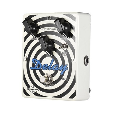 BIYANG AD-12 Classic Series Double Chip Analog Delay Guitar Effect Pedal True Bypass Full Metal Shell