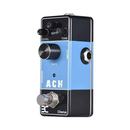 ENO EX Acoustic Guitar Effects Pedal Series ACH Chorus Effect Pedal Full Metal Shell True Bypass