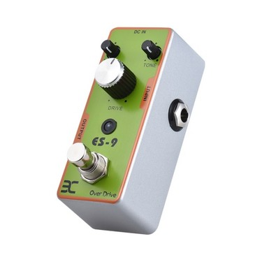 ENO EX TC-17 ES-9 Electric Guitar Overdrive Effect Pedal Full Metal Shell True Bypass