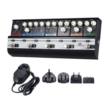 BIYANG LiveMaster Series LM-7 Mainframe Unit Fashionable Style Set with 6 Guitar Effect Pedals