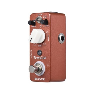 MOOER TresCab Cabinet Simulated Simulator Guitar Effect Pedal True Bypass Full Metal Shell
