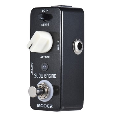 MOOER SLOW ENGINE Slow Motion Guitar Effect Pedal True Bypass Full Metal Shell