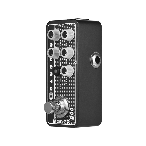 MOOER MICRO PREAMP Series 008 Cali-MK 3 Californian Session Combo Digital Preamp Preamplifier Guitar Effect Pedal True Bypass
