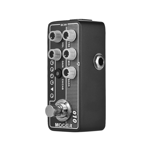 MOOER MICRO PREAMP Series 010 Two Stone Modern Classic Digital Preamp Preamplifier Guitar Effect Pedal True Bypass