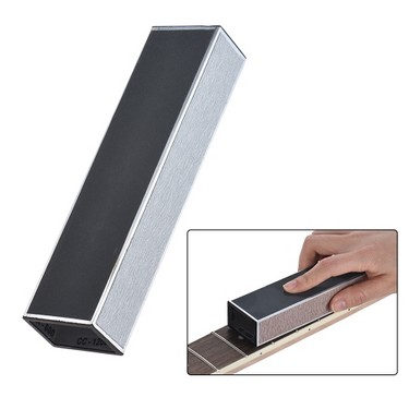 Guitar Neck Sanding Fret Leveler Leveling Beam Luthier Tool Metal Material with Sandpaper