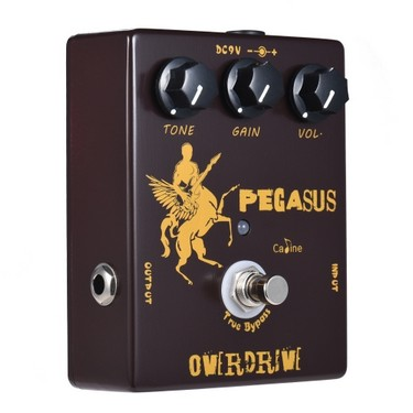 Caline CP-43 Overdrive Guitar Effect Pedal Aluminum Alloy With True Bypass