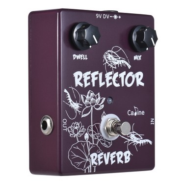 Caline CP-44 Reverb Guitar Effect Pedal Aluminum Alloy With True Bypass
