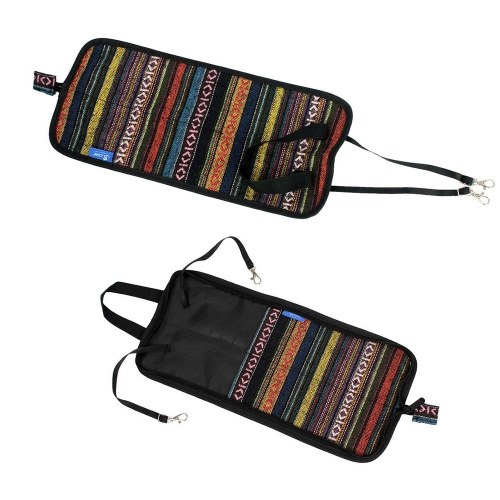 Special National Style Drum Stick Drumsticks Mallet Bag Case Cotton Material With 4 Pairs 5A Nylon Drumsticks