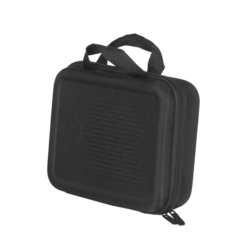 17-Key Kalimba Case Thumb Piano Mbira Box Bag Water-resistant Shock-proof with Gloves Finger Stall Cleaning Cloth