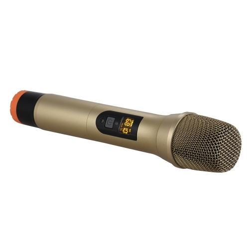 UHF Handheld Wireless Microphone Mic System 48 Channels for Karaoke Business Meeting Speech Home Entertainment