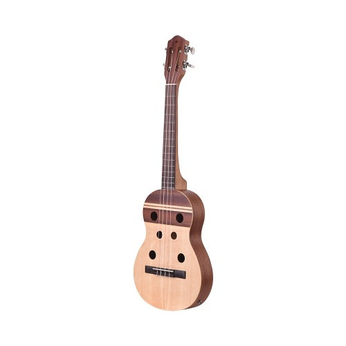 34 Inch Electric Ukulele Ukelele Uke Built-in 2-band Pickup EQ with Gig Bag Strap Connection Cable Picks