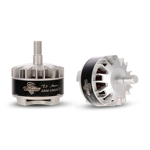 2pcs Brotherhobby Tornado T2 3-5S 2206 2300KV Brushless Motor CW/CCW for QAV220 250 RC FPV Quadcopter