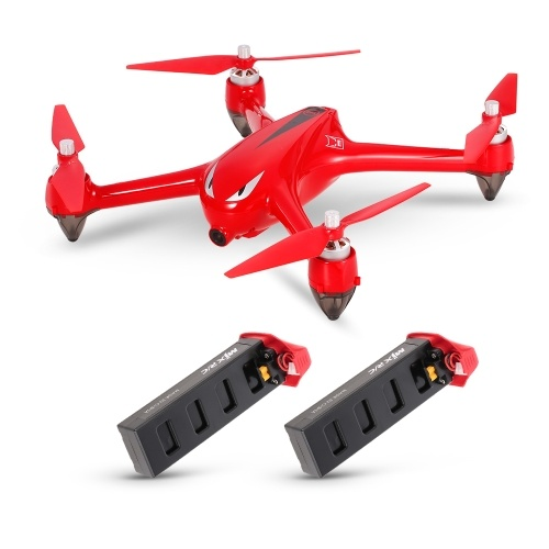MJX B2W Bugs 2W 1080P HD Camera Wifi FPV Drone Brushless Motor Independent ESC GPS RC Quadcopter w/ Two Batteries RTF