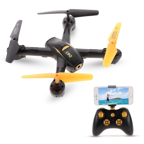 YIDAJIA D61WG 480P Camera Wifi FPV Altitude Hold Headless RC Quadcopter Drone