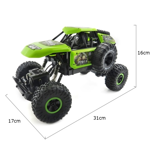 Flytec SL-135A 1/14 2.4G 25KM/h High Speed Rock Crawler Off-road Truck RC Car