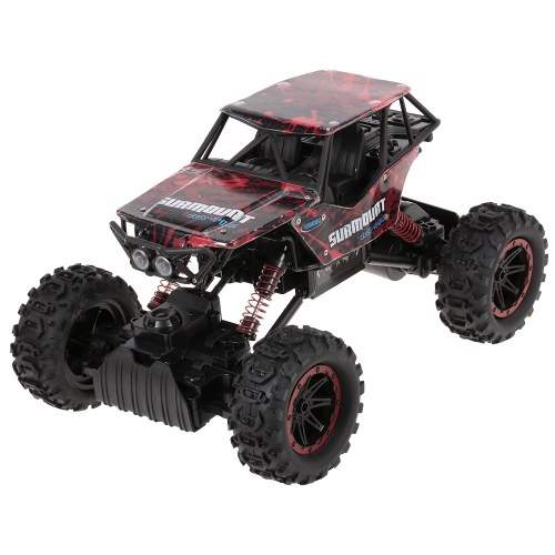 YONGXIANG TOYS 8897-187E 1/12 2.4G 4WD DIY Tire All Terrain High Speed RC Rock Crawler