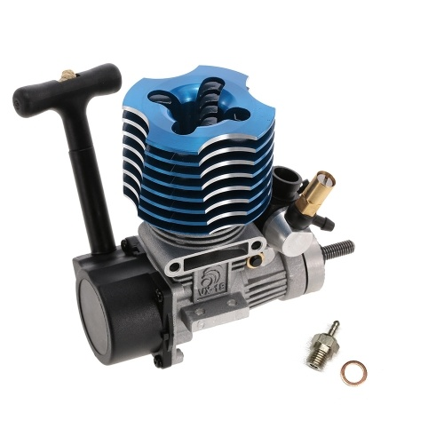 VX 18 Pull Starter Engine with Fire Head for RC 1/10 HSP HPI Redcat Nitro Car Off-Road Buggy Monster Truck On-Road Racing Car