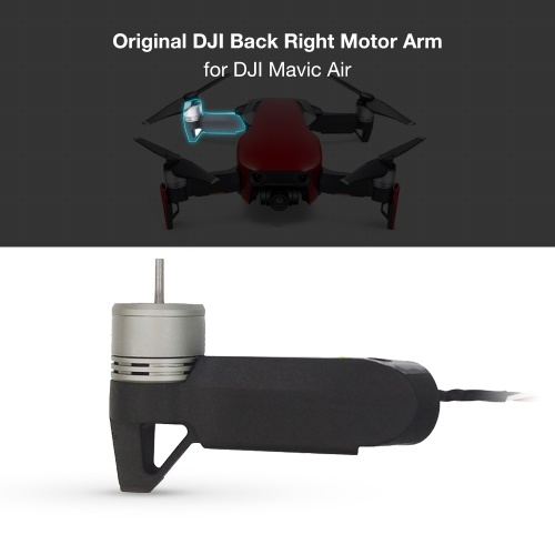 Original DJI Back Right Rear Right Motor Arm Repair Parts for DJI Mavic Air Drone RC Quadcopter
