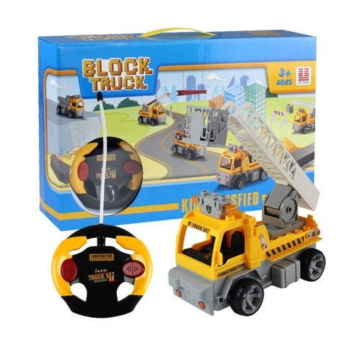 16Pcs DIY Building Blocks Car