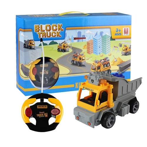18Pcs DIY Building Blocks Car