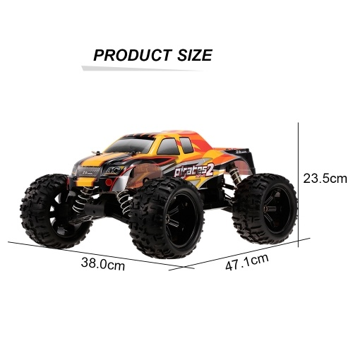 ZD Racing 9116 Pirates2 MT-8 1/8 4WD Monster Truck Off-road RC Car DIY Kit (Without Electronic Accessories)