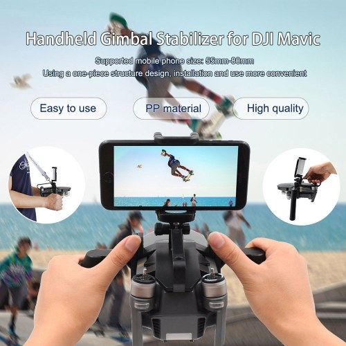 STARTRC Dual Handheld Gimbal Tray Stabilizer for DJI Mavic Pro Platinum RC Drone Quadcopter
