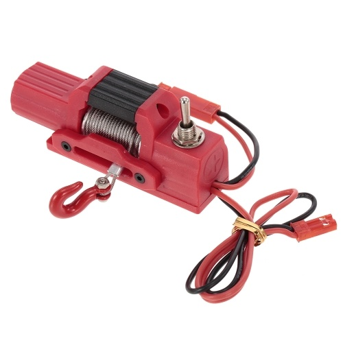 Simulation Electric Winch for TRAXXAS TRX-4 RC Car Off-road Rock Crawler