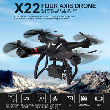 BAYANGTOYS X22 Double GPS RC Quadcopter Drone