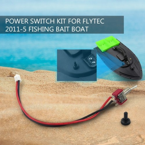 Power Switch Kit for Flytec 2011-5 1.5kg Loading Remote Control Fishing Bait Boat