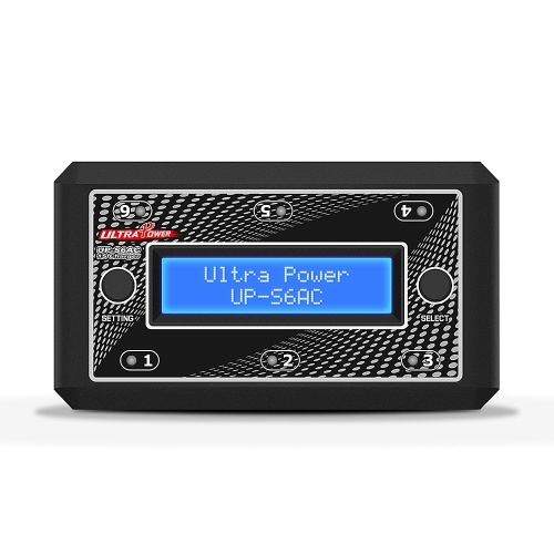 Ultra Power UP-S6AC 6-Way 1S LiPo/LiHV Battery Balance Charger Discharger for RC Car Drone Boat