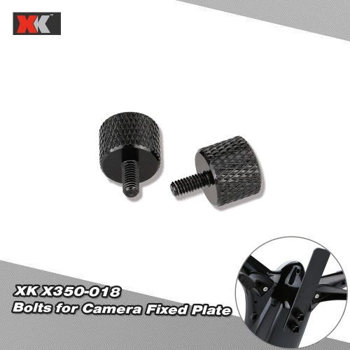 2Pcs Original XK RC Part X350-018 Bolts for Camera Fixed Plate of XK X350 RC Quadcopter