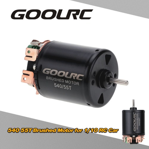 GoolRC 540/55T Brushed Motor for 1/10 RC Car