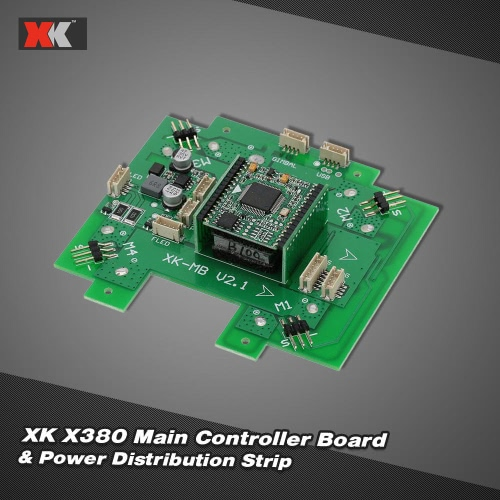 Original XK X380-015 Main Controller Board & Power Distribution Strip for XK X380 RC Quadcopter