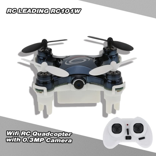 RC LEADING RC101W WIFI 4CH 6 Axis Gyro RC Quadcopter with 0.3MP Camera