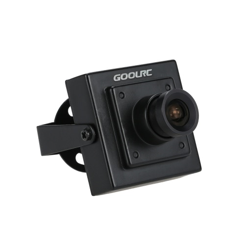 GoolRC Mini HD 700TVL 1/3″ CMOS 2.1mm Wide Angle Lens CCTV Security FPV Color Camera NTSC System