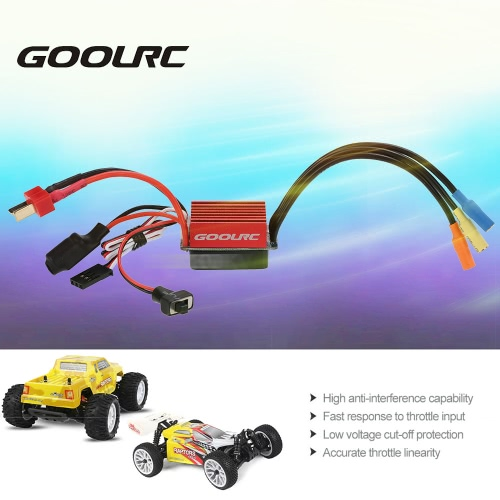 Original GoolRC S-35A Brushless ESC Electric Speed Controller with 5V/2A BEC for 1/12 1/14 1/16 RC Car
