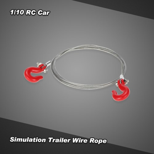 Simulation Trailer Wire Rope for 1/10 D90 Axial SCX10 RC Car