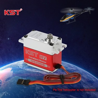 Original KST MS3509 HV Aluminum Alloy Case Contactless Position Sensor Steel Gear Digital Servo for RC Models & Robot