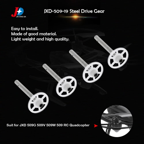 4Pcs Original JXD JXD-509-19 Steel Drive Gear for JXD 509G 509V 509W 509 RC Quadcopter