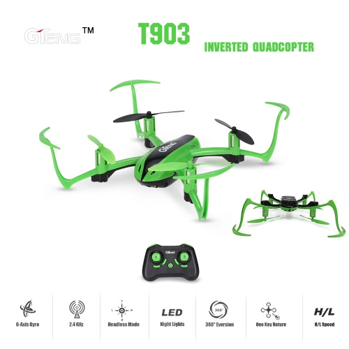 Original GTeng T903 Vortex Inverted 180 Degrees RC Quadcopter RTF Drone with Headless Mode