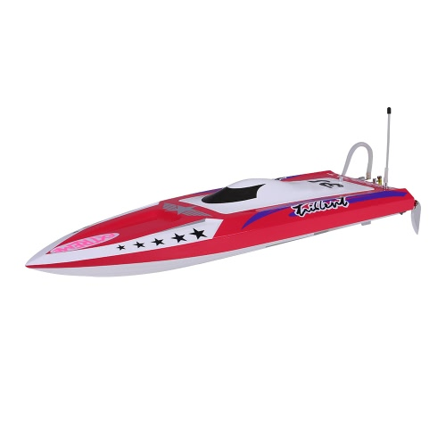 Original NO.H640 Captain America Brushless 70km/h High Speed Racing RC Boat PNP Version with Servo ESC Motor