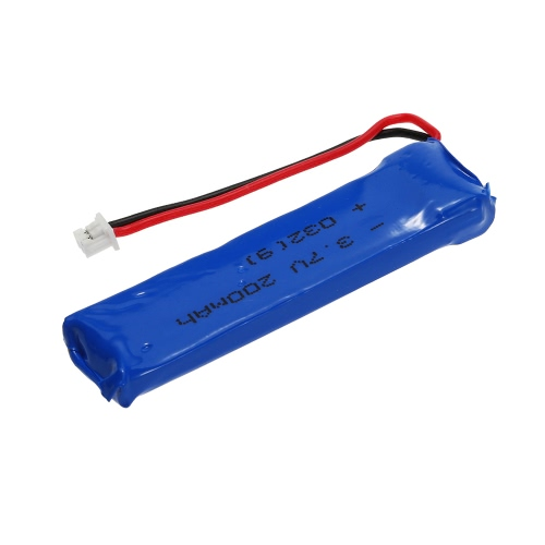2pcs 3.7V 200mAh 30C Upgrade Lipo Battery for Blade Inductrix Tiny Whoop BLH8700 BLH8580 RC Drone Quadcopter