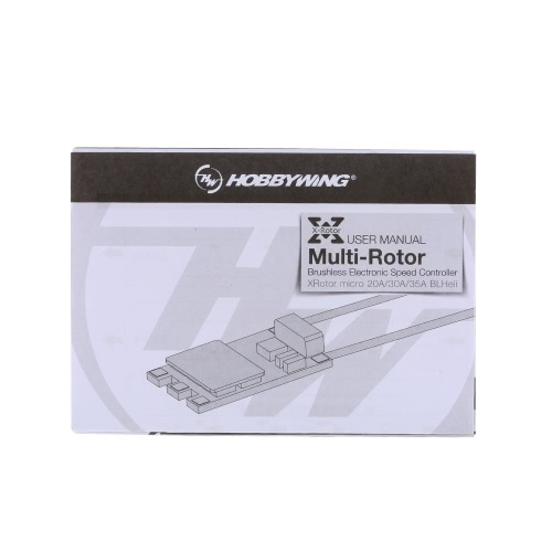Original Hobbywing XRotor Micro BLHeli 30A 2-4S ESC Brushless Electronic Speed Controller for QAV210 250 280 RC Multi-rotor Drone Quadcopter