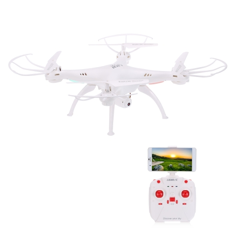 Original LiDi RC L15FW 2.4G 4CH 6-Axis Gyro Wifi FPV Transmission 0.3MP Camera Fully Waterproof RC Quadcopter