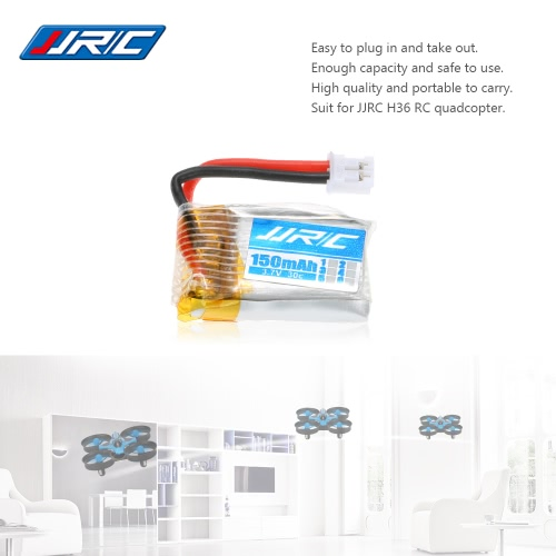 Original JJRC H36-004 3.7V 150mAh 30C Lipo Battery for JJRC H36 RC Drone Quadcopter
