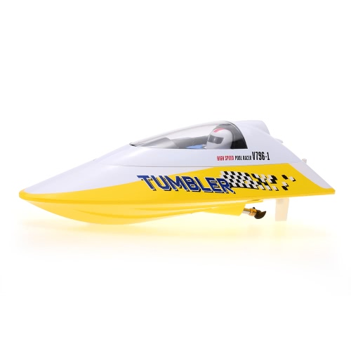 Volantex TUMBLER V796-1 25KM/H 2.4GHz RC Racing Boat – Red