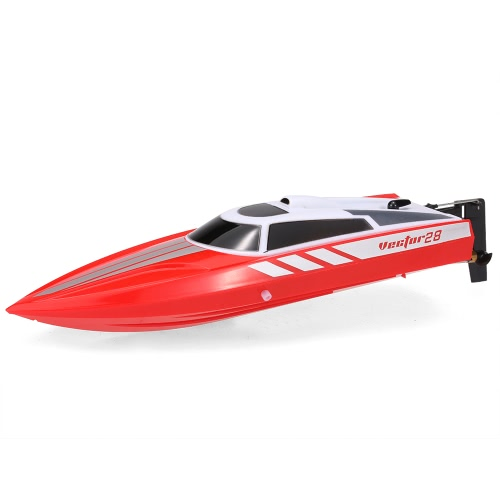 Volantex Vector28 795-1 2.4GHz 30km/h RC Racing Boat – Red
