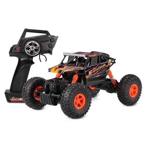 Original Wltoys 18428-B 1/18 2.4G 4WD Electric RTR Off-Road Rock Crawler Climbing RC Car